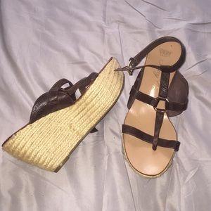 Juicy contour wedge sandal